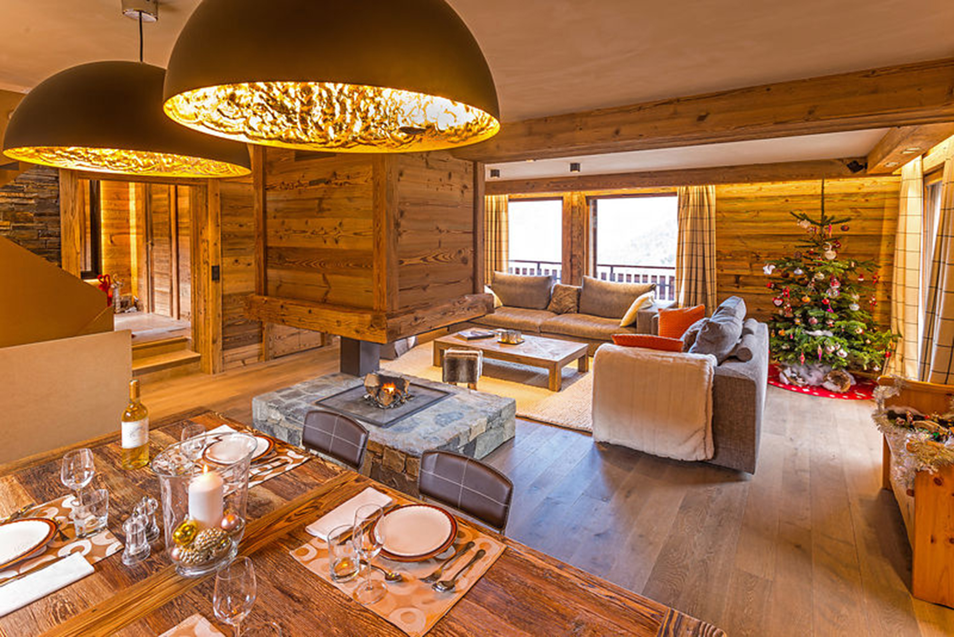 RENOVATION AND LAYOUT OF A MOUNTAIN CHALET | Amevet