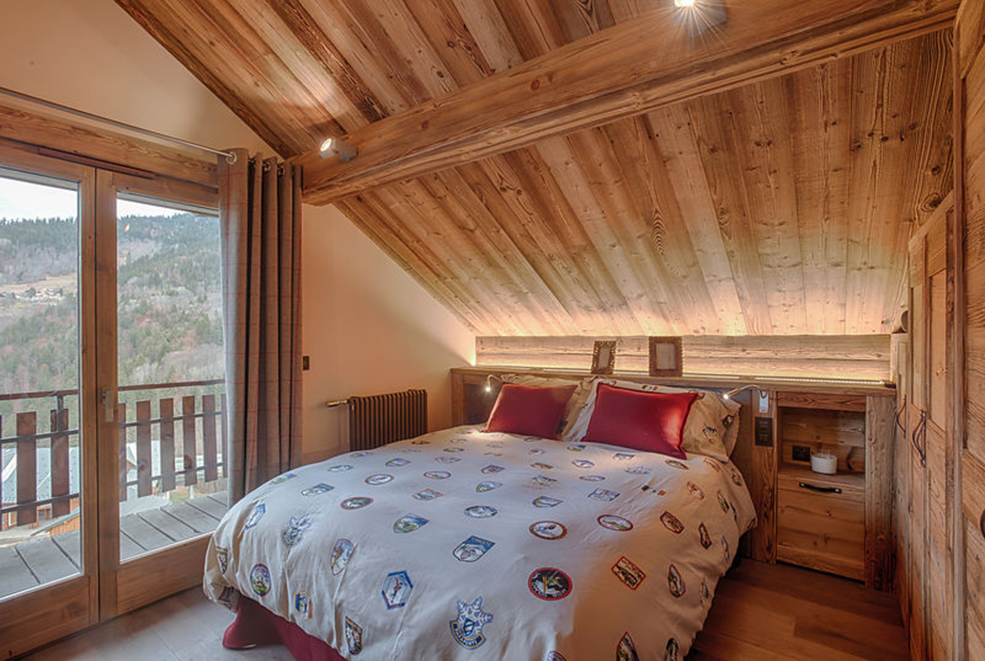 r novation et am nagement d un chalet de montagne amevet. Black Bedroom Furniture Sets. Home Design Ideas