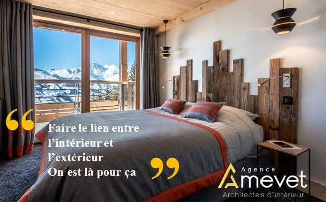 Agence Amevet - Architecte d'intérieur - Chambéry Savoie - Chalets de prestige - Résidences Privées - Hôtels - Restaurants - Résidences de Tourisme - Concept store -