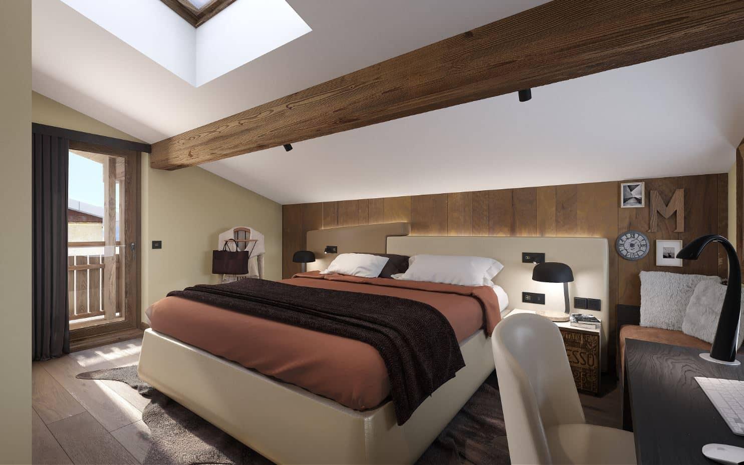Agence Amevet - Architecte d'intérieur - appartement de prestige en montagne Megève