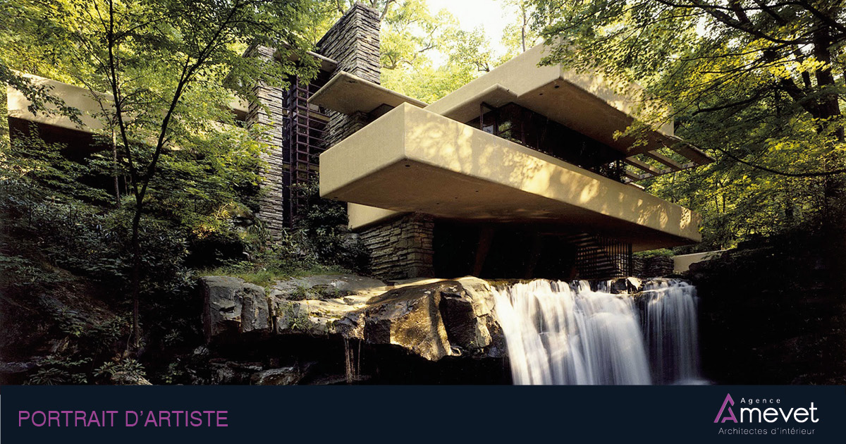 Frank Lloyd Wright, Maison cascade, Fallingwater