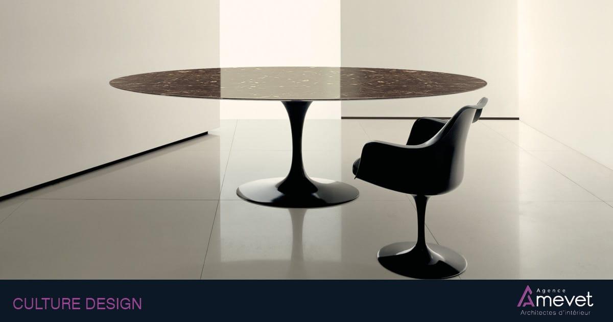 Table Saarinen de Knoll , table tuilip