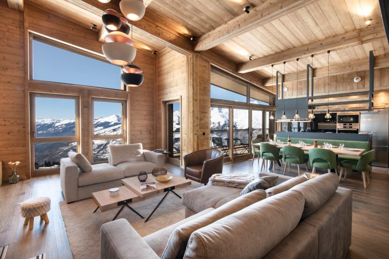 16 Appartement prestige montagne